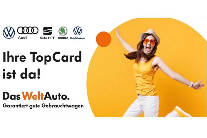 Das WeltAuto TopCard